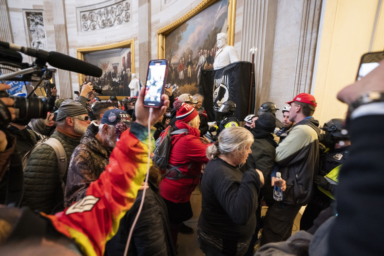 Protestanci na Kapitolu