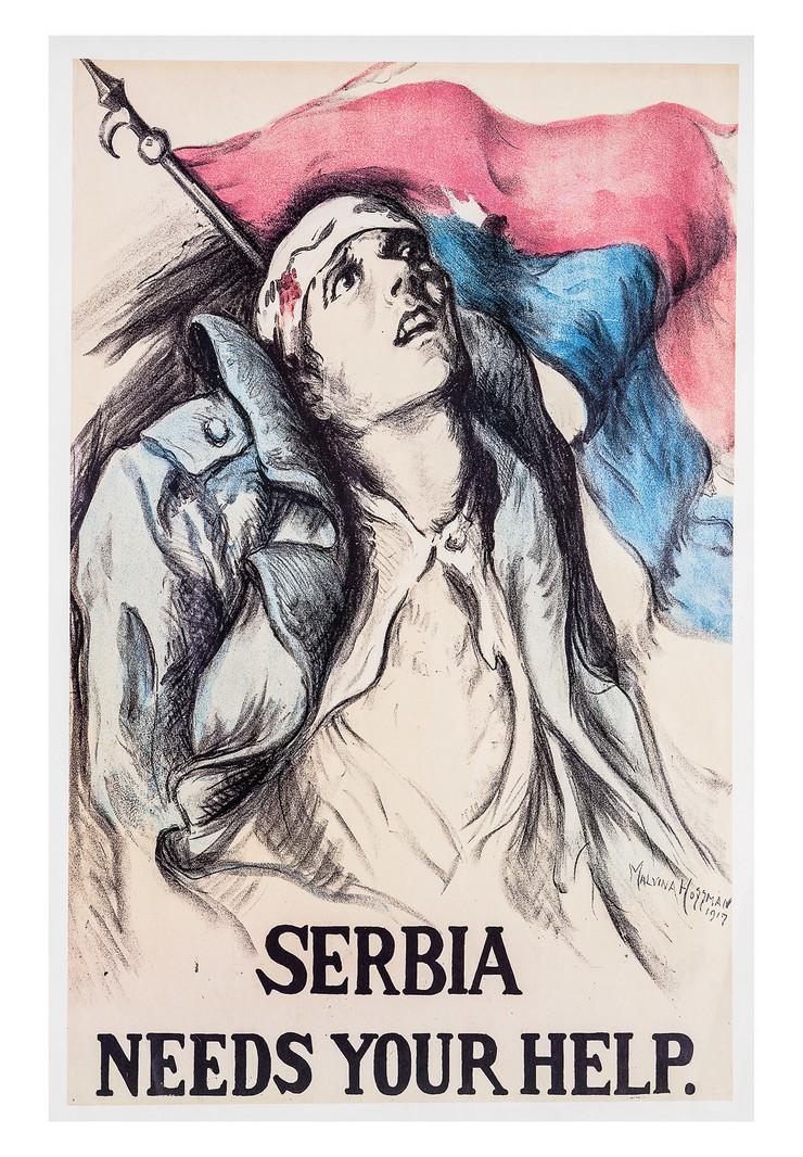 malvina hofman, serbia needs your help