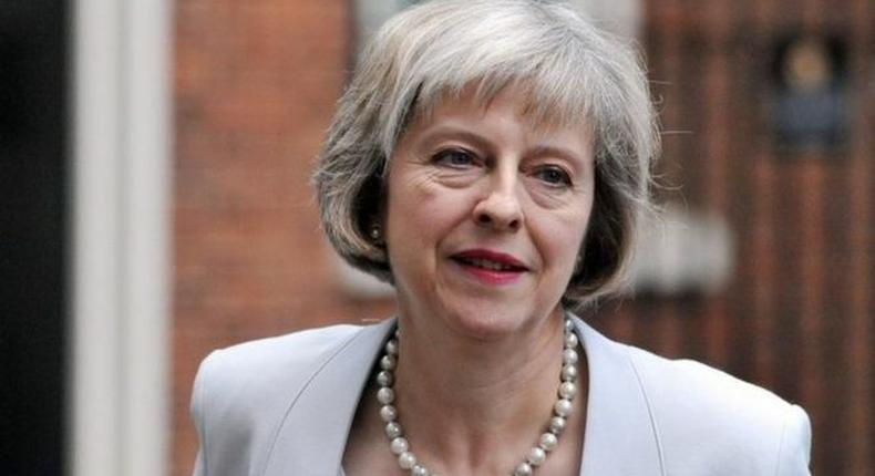 UK Prime Minister, Theresa May.