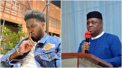 Teebillz mocks Femi Fani-Kayode over support for Donald Trump