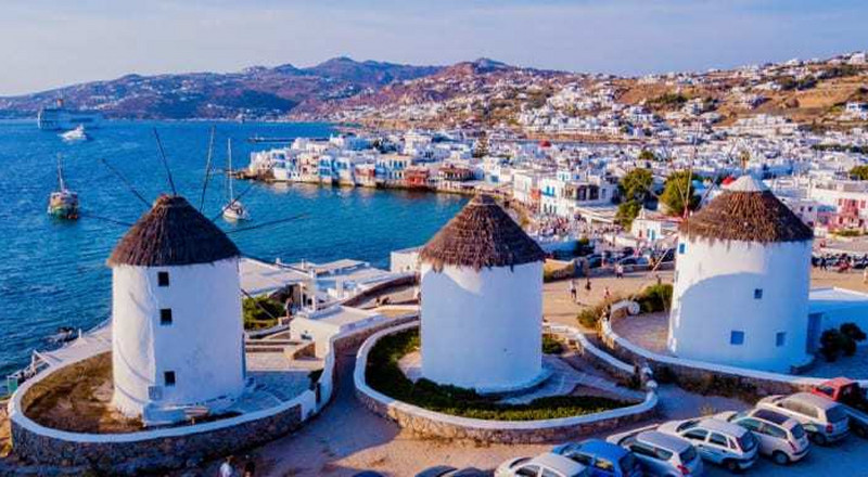 Why is everybody going to Mykonos?