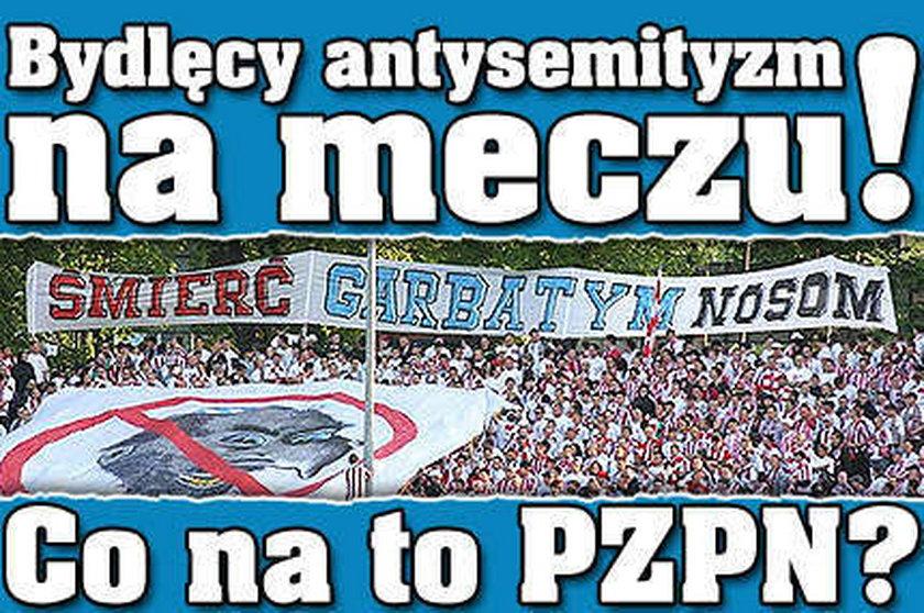 Bydlęcy antysemityzm w Rzeszowie!