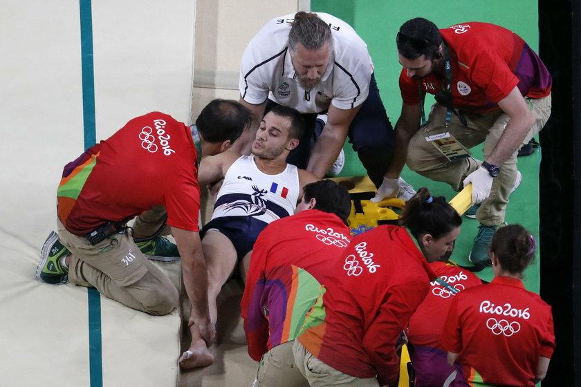 Rio 2016: Samir Ait Said doznał koszmarnej kontuzji