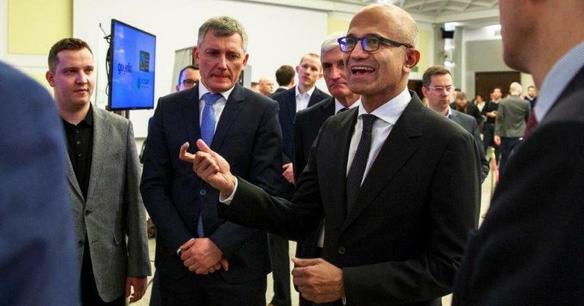 """""""Chcemy być firmą, która uczy się wszystkiego"""" - CEO Microsoftu Satya Nadella"""