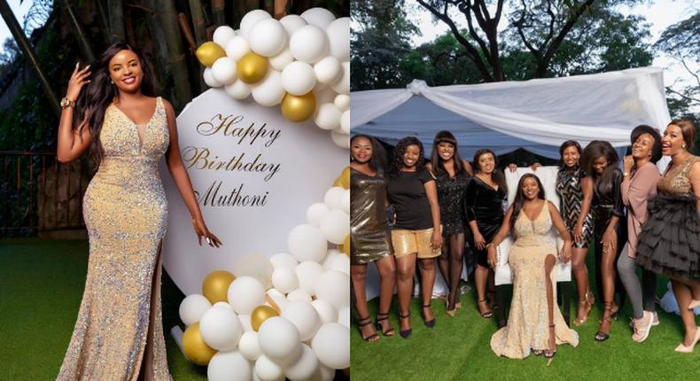 How Muthoni Mukiri's surprise Birthday party went down (Photos)
