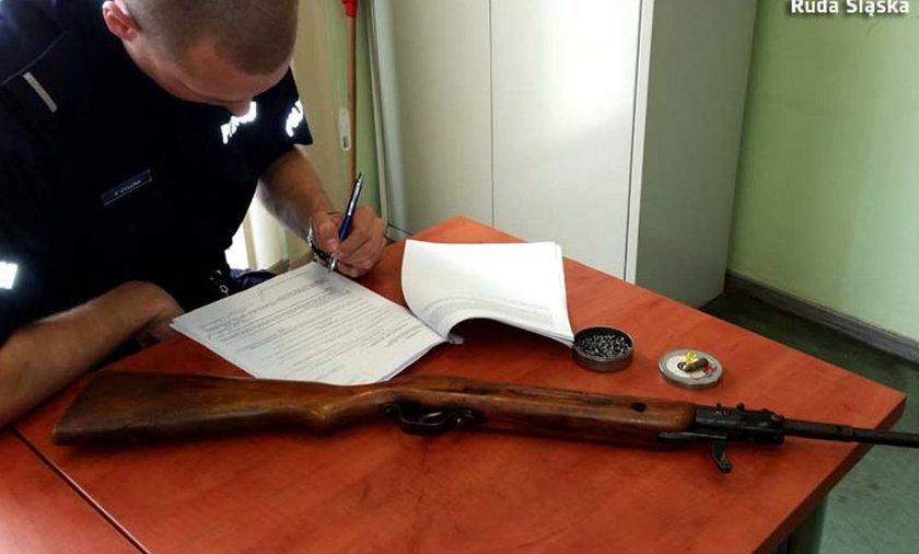Pijany strzelec w rękach policji