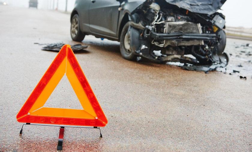 Wypadek w Leżajsku (zdjęcie ilustracyjne)