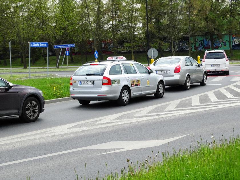 Skrzyżowanie ul. Elsnera z Kompozytorów Polskich