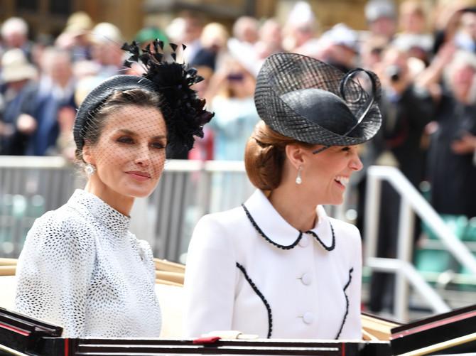 Kraljica Leticija i Kejt Midlton