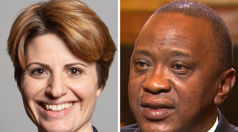 British MP claims she didn't know her flat was owned by the Kenyatta family