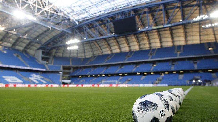 Trybuny stadionu Lecha Poznań