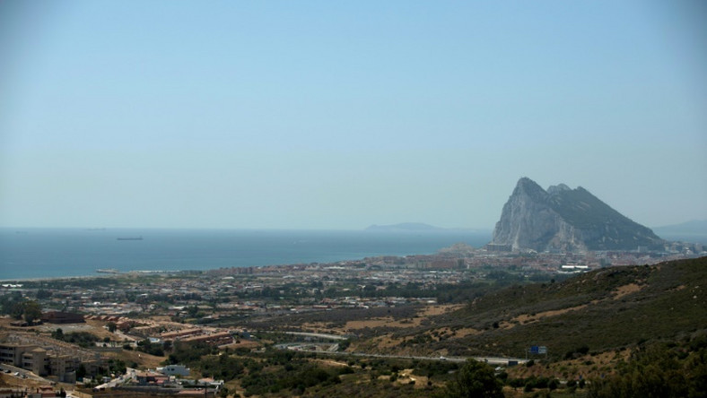 Gibraltar is a small peninsula attached to Spain that is a British territory home to around 30,000 people