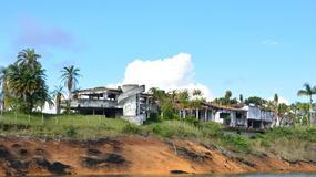 Opuszczony dom Escobara został areną paintballową