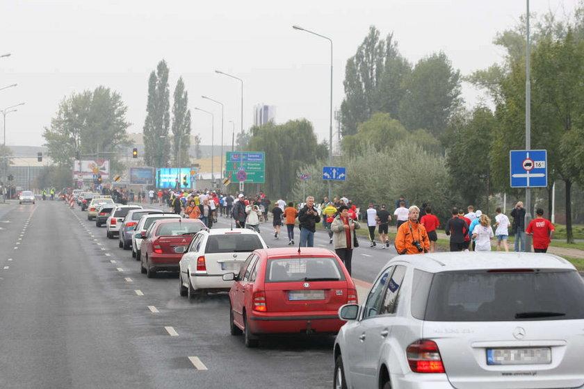 Maraton sparaliżował miasto