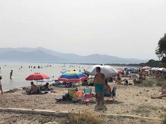 Krcata plaža  Schinias