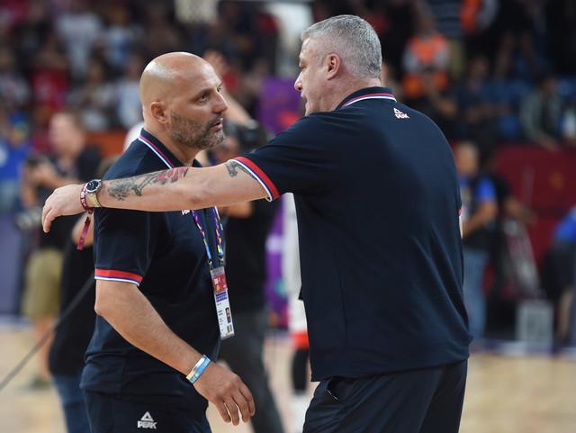 Sale Đorđević i Predrag Danilović