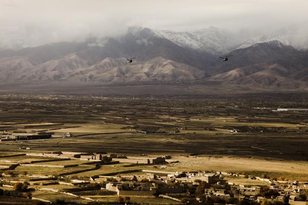 Amerykańskie śmigłowce nad Afganistanem