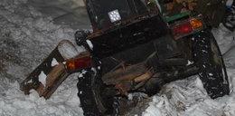 Pijany ojciec odśnieżał podwórko. Maszyna przygniotła 6-latka