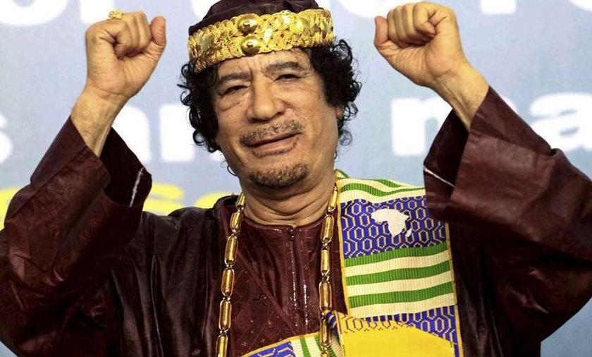 Kaddafi najbogatszym człowiekiem na świecie