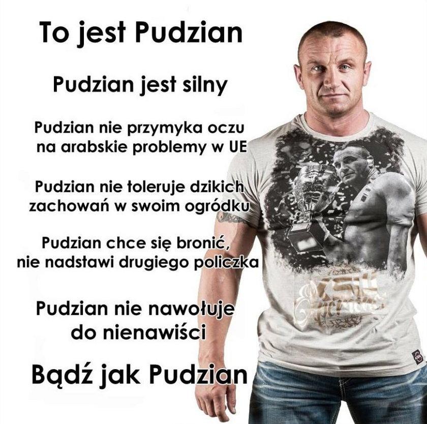 Pudzianowski kontratakuje i uderza w działaczkę