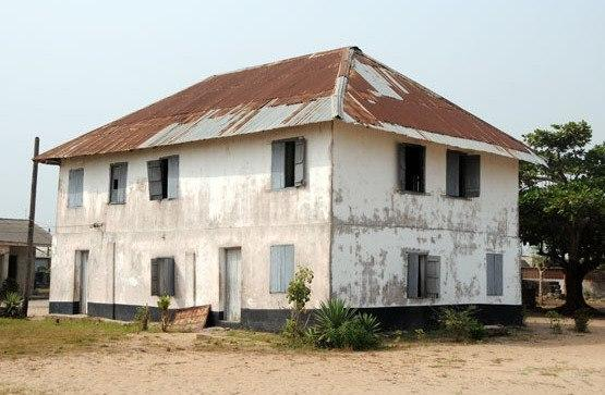 The first storey building, which is also the first mission house in Nigeria (Built in 1842).