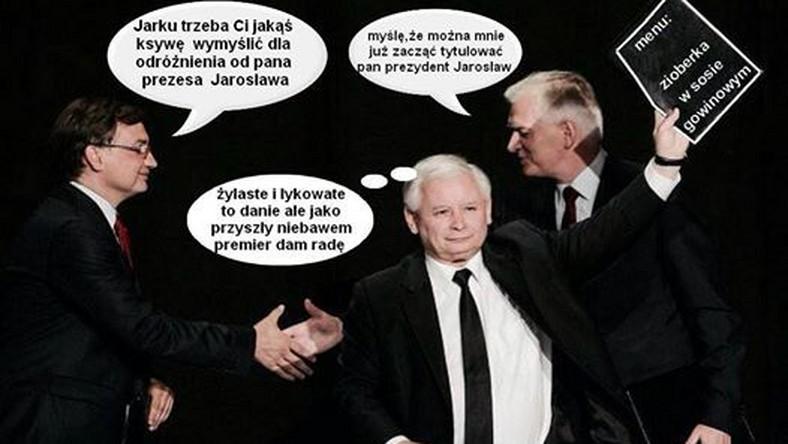 Jarosław Kaczyński jednoczy prawicę. Czy za jego rządów, Gowin ma szansę zostać prezydentem?