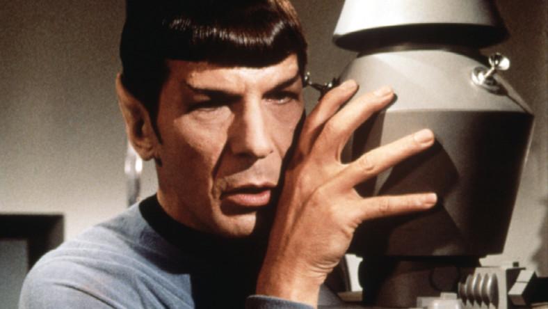 "Spock ze ""Star Treka"" ma chore płuca"
