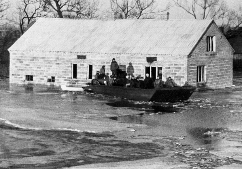 Część miasta znalazła się pod wodą. To była tragedia dla kilku tysięcy mieszkańców