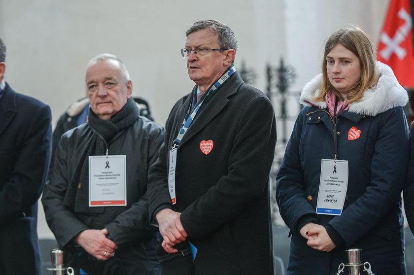 Pogrzeb Pawła Adamowicza. Oni przybyli go pożegnać