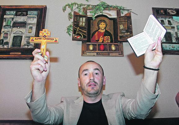 Alen Azarić protiv koga se takođe vodi postupak Miroljubov je učenik