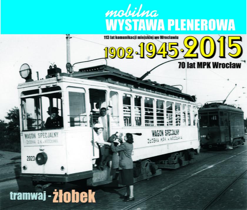Wystawa MPK na pl. Solnym we Wrocławiu
