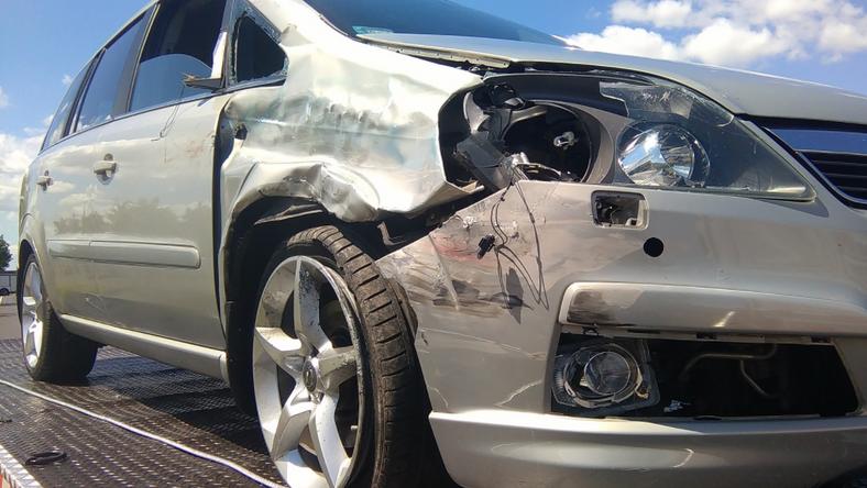 W Węgierkach doszło do wypadku z udziałem trzech pojazdów