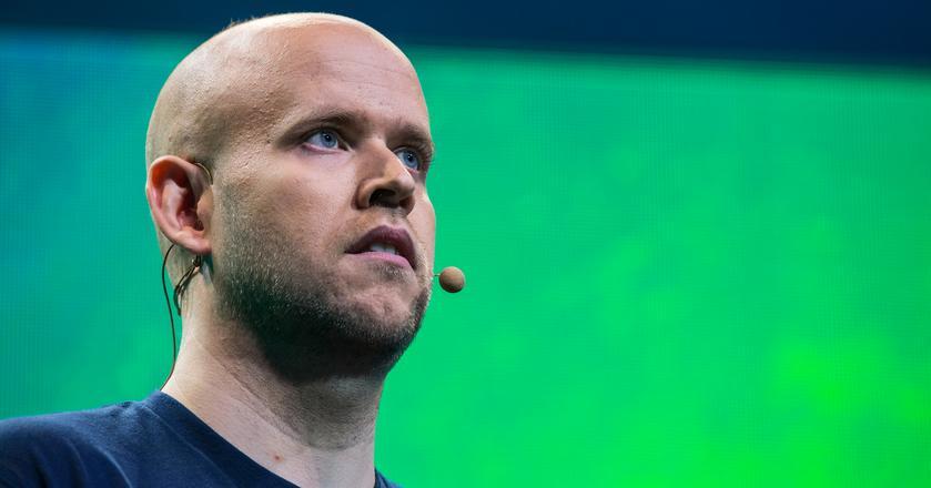 Daniel Ek, założyciel i prezes Spotify