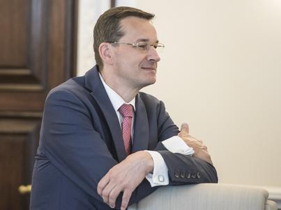 """""""Bardzo ciekawy i bardzo potrzebny"""" - tak Mateusz Morawiecki ocenia prezydencki projekt ws. frankowiczów"""