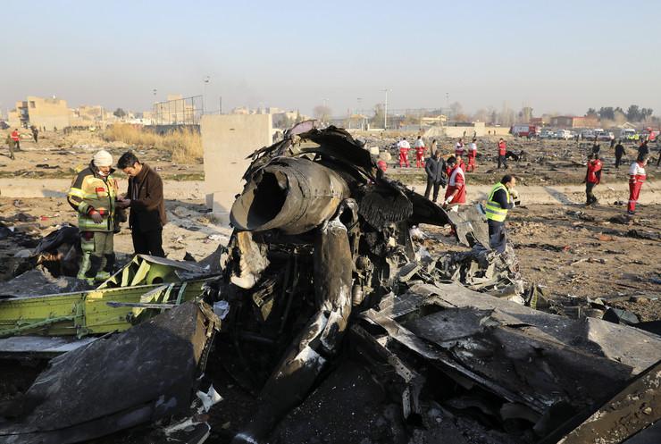 iran ukrajinski avion 16 foto Tanjug AP