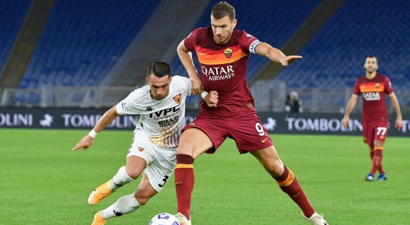 Sassuolo move second in Serie A, Dzeko lifts five-goal Roma