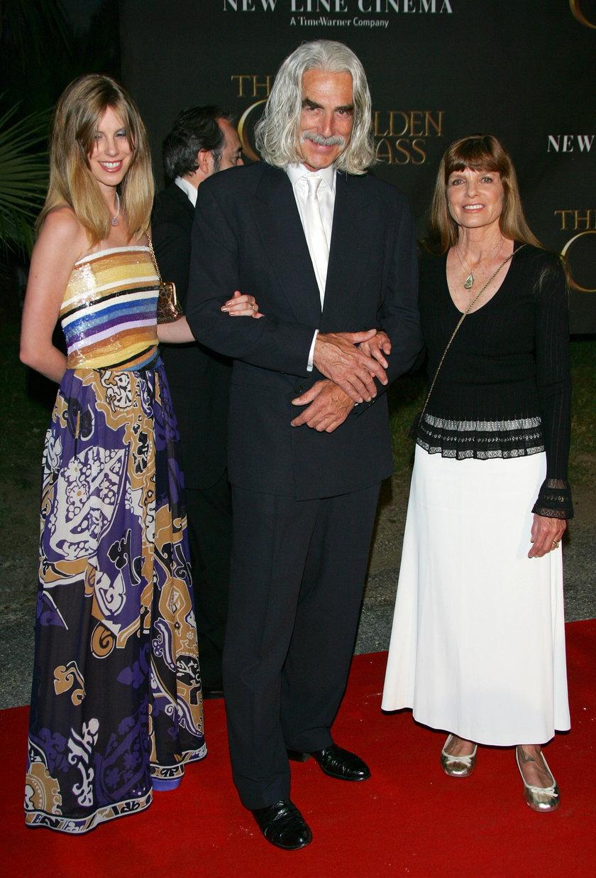 Cleo Rose Elliott z rodzicami
