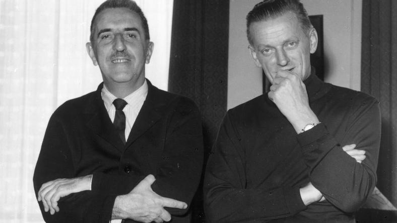 Jerzy Waldorff i Bohdan Wodiczko w 1963 roku