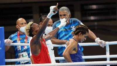 Tokyo 2020: Boxer Samuel Takyi qualifies for quarterfinals after beating Ecuadorian opponent