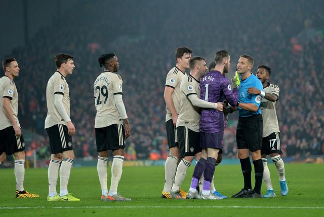 Fudbaleri Mančester junajteda protestuju
