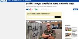 W Bristolu nie chcą Polaków? Obraźliwe graffiti