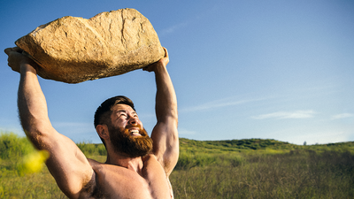 You Can Build Major Muscle With Anything Outdoors