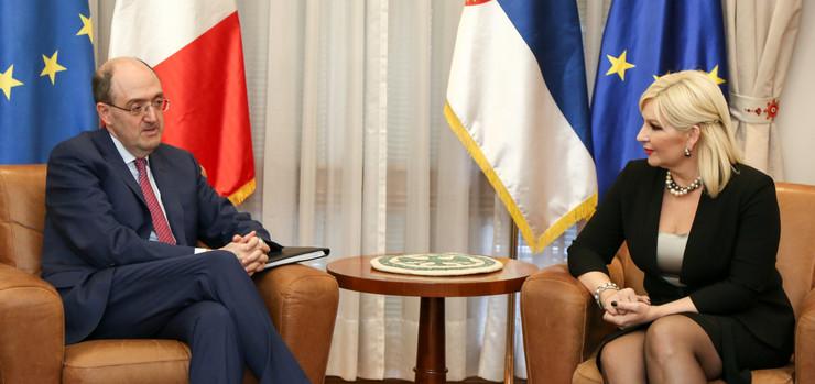 Zorana Mihajlovic, Tanjug, Kabinet potpresednice vlade