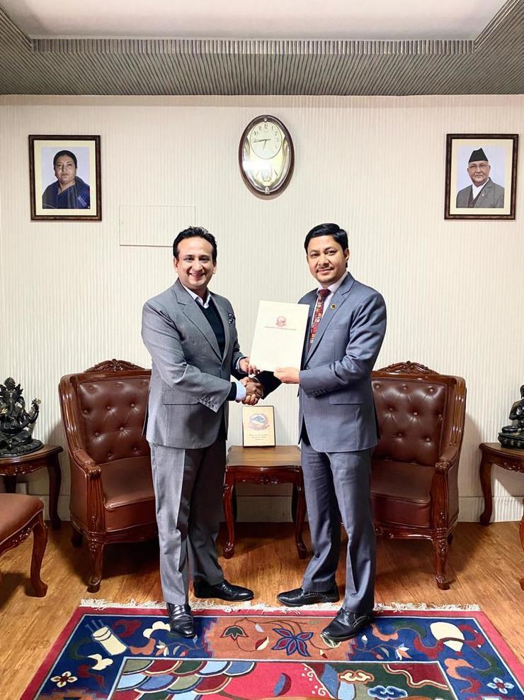 Nirvana Čodri, novi počasni konzul Srbije u Nepalu