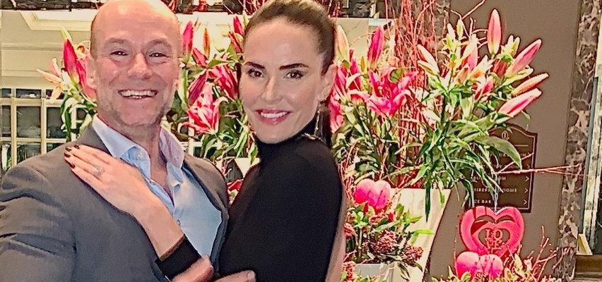 Polski hrabia Kazimierz Baliński-Jundziłł poślubił brytyjską modelkę