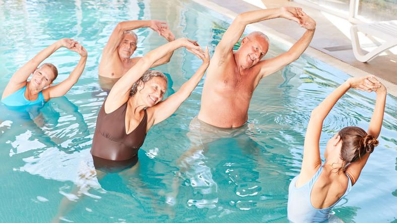 Ćwiczenia w basenie