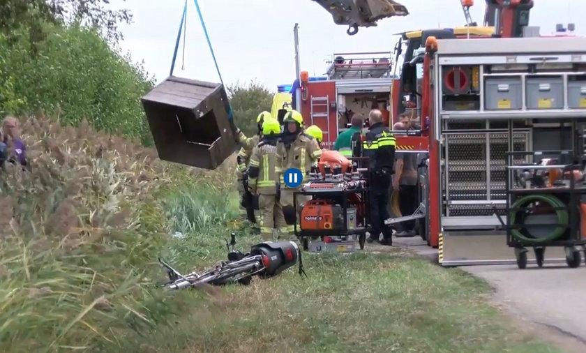 Wypadek podczas zbioru owoców w Holandii. Ciężko ranni Polacy