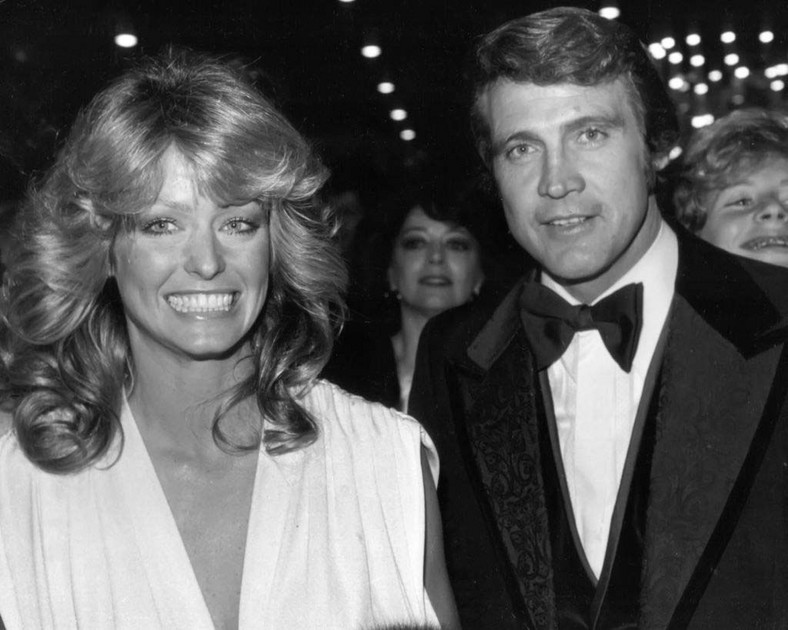 Farrah Fawcett i Lee Majors