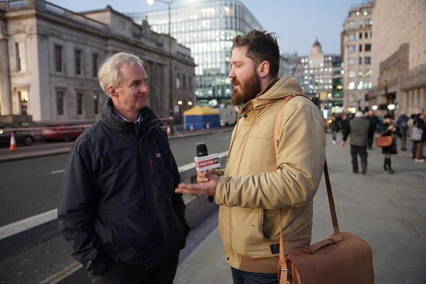Nasz reporter w Londynie