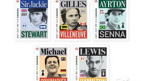 Mistrzowie świata Formuły 1 na znaczkach pocztowych. Wyjątkowa kolekcja